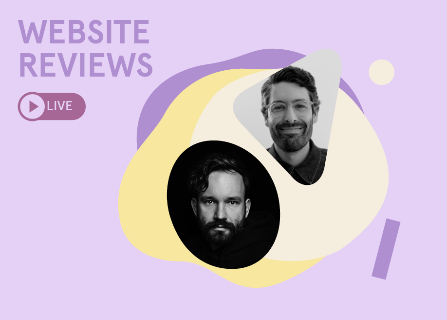 Live Design Jury Website Reviews with Jonas Lempa & Sabato Urciuoli