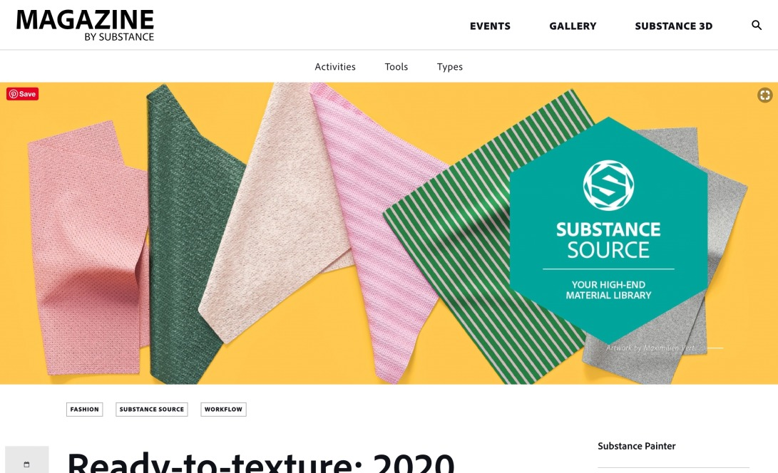 Ready-to-texture: 2020 Fashion and Apparel Parametric Collection
