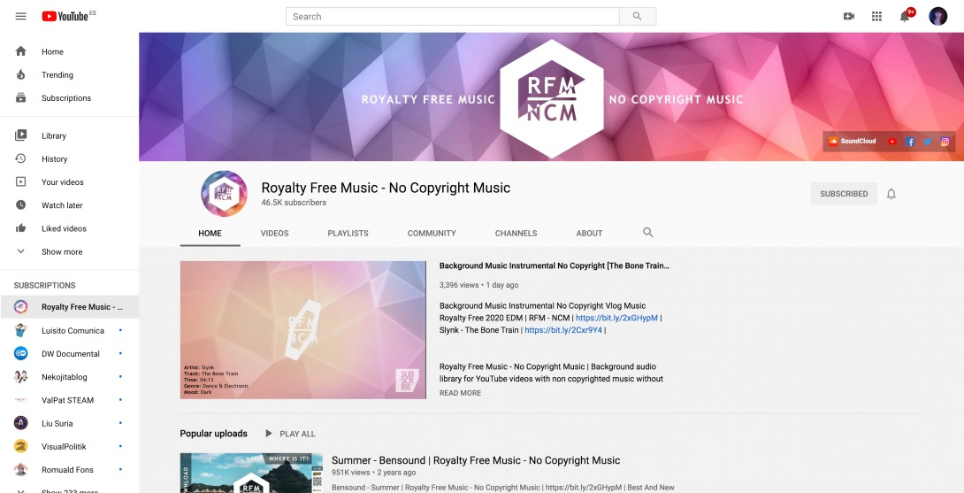 (25) Royalty Free Music - No Copyright Music - YouTube