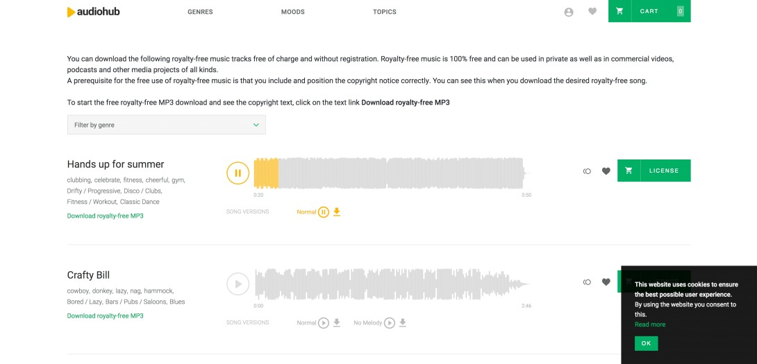 Free Royalty-Free Music | audiohub