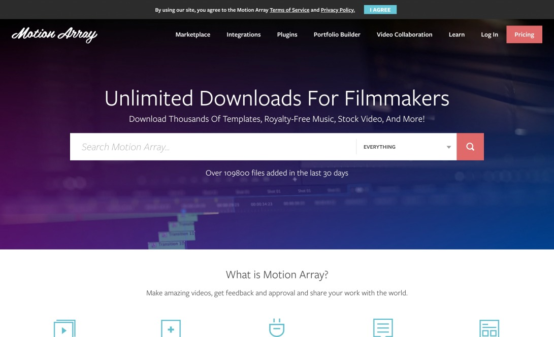 Premiere Pro and After Effects Templates, Stock Music, and more. | Motion Array