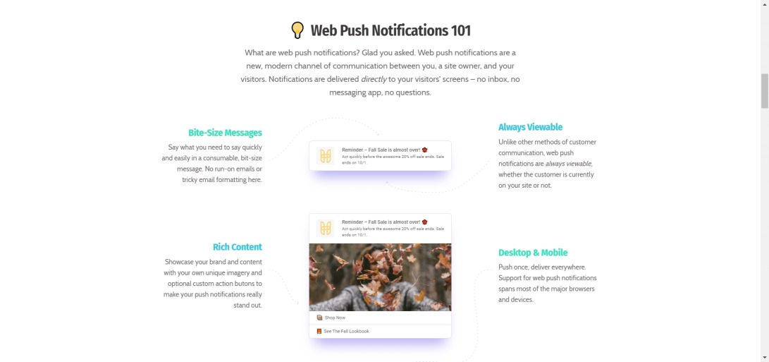 Subscribers | Smarter Push Notifications For Desktop And Mobile