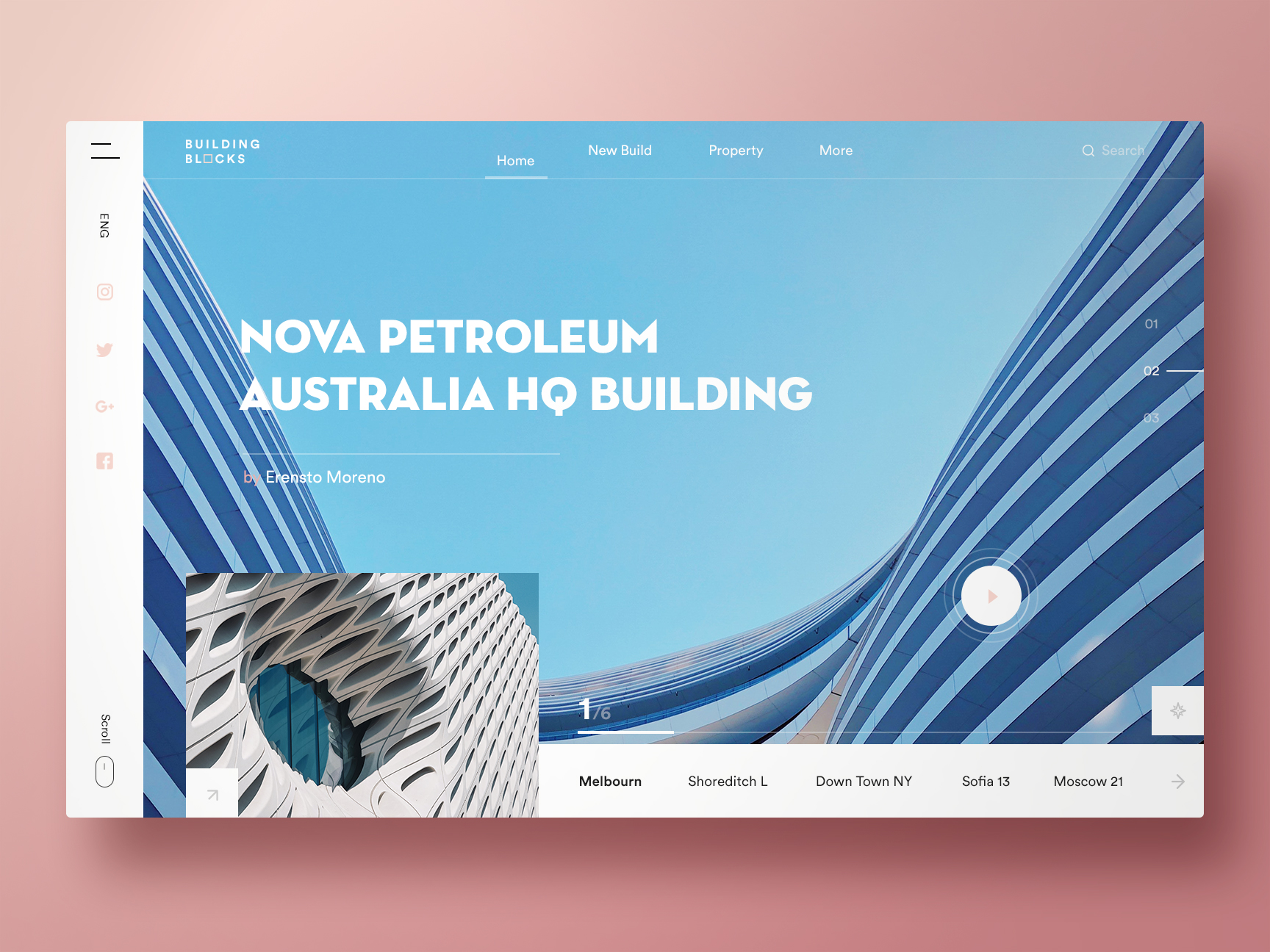 Visual Design Inspiration for your Monday Morning   Search by Muzli