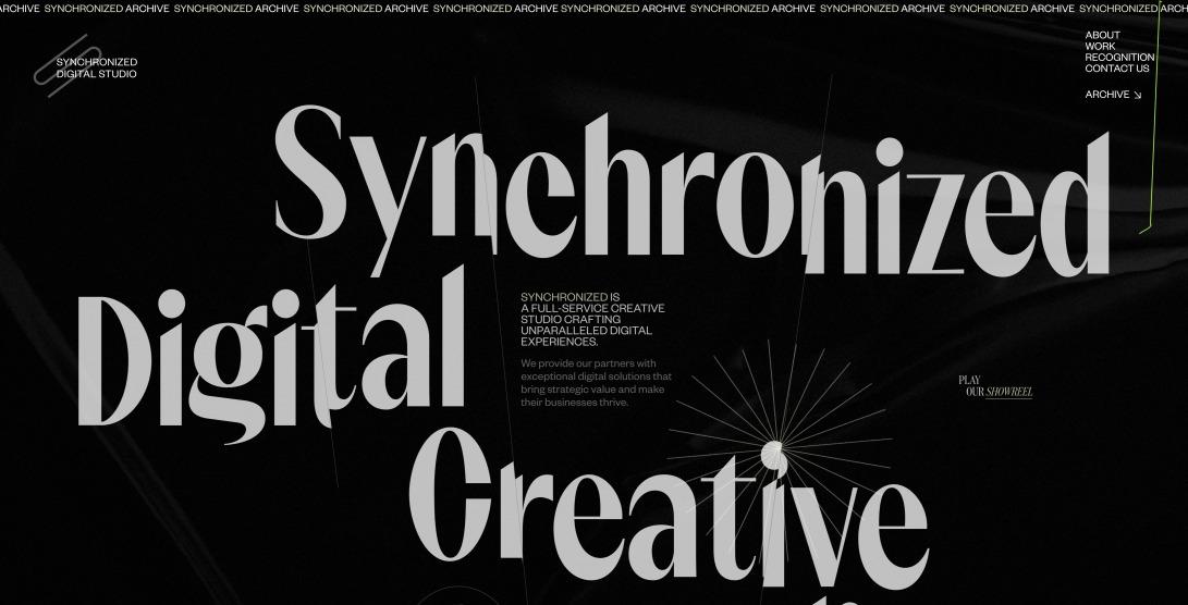 Synchronized | Digital Creative Studio