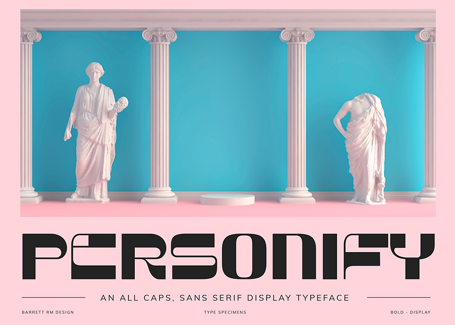 Personify - Display free font