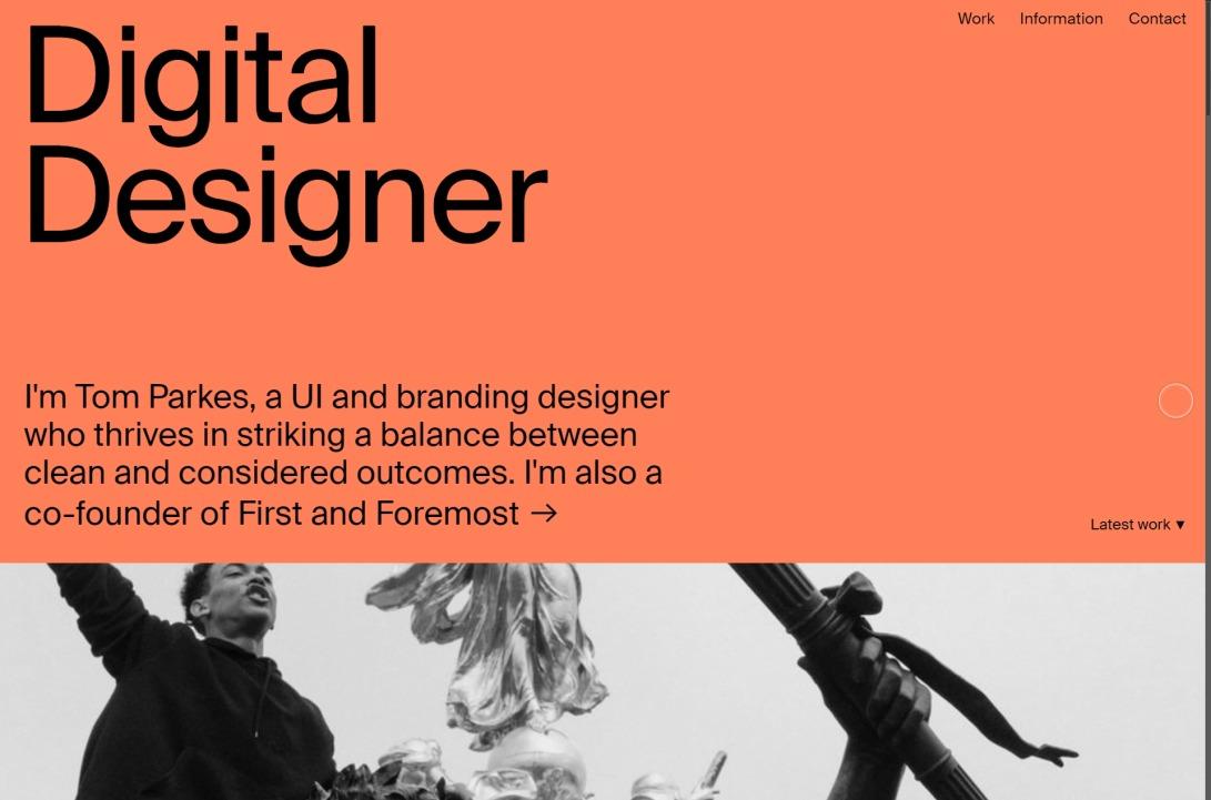 Tom Parkes   Digital Designer