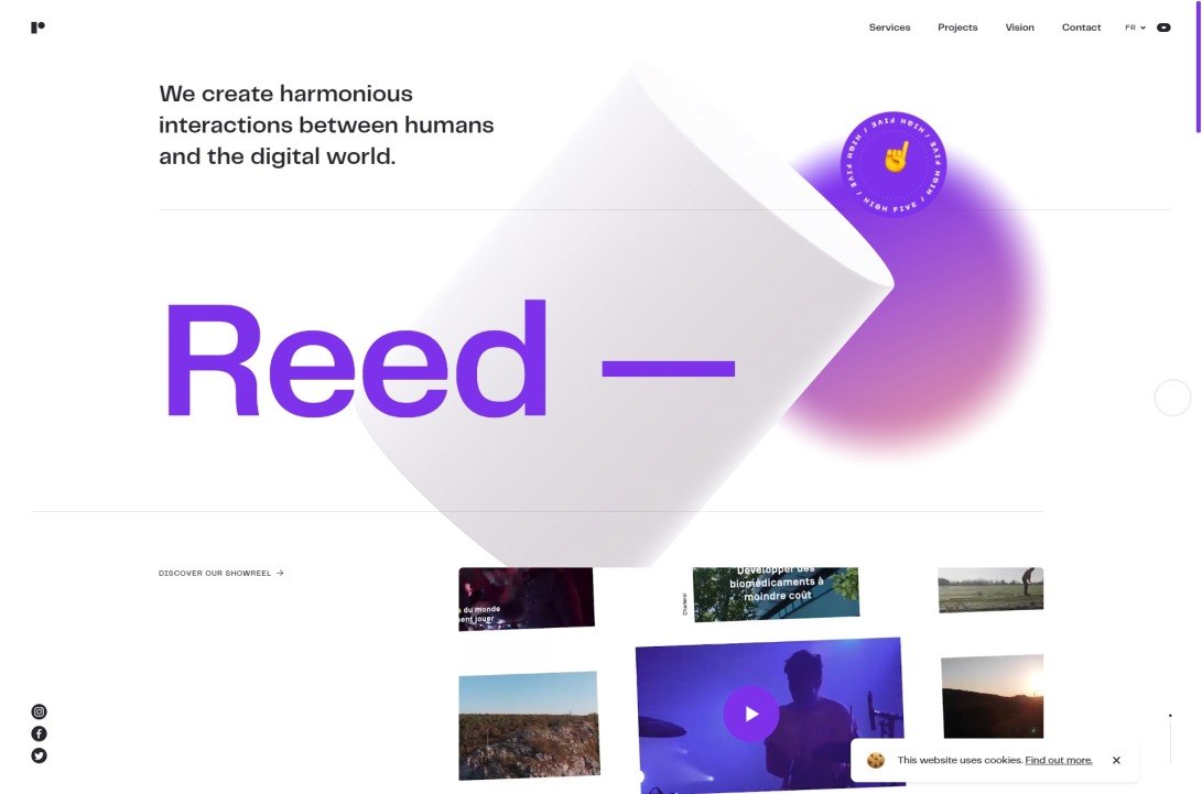Reed, an agency for your digital strategy