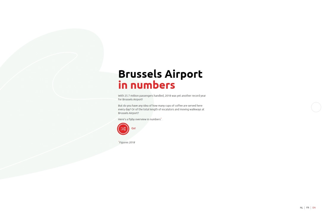 Brussels Airport in numbers