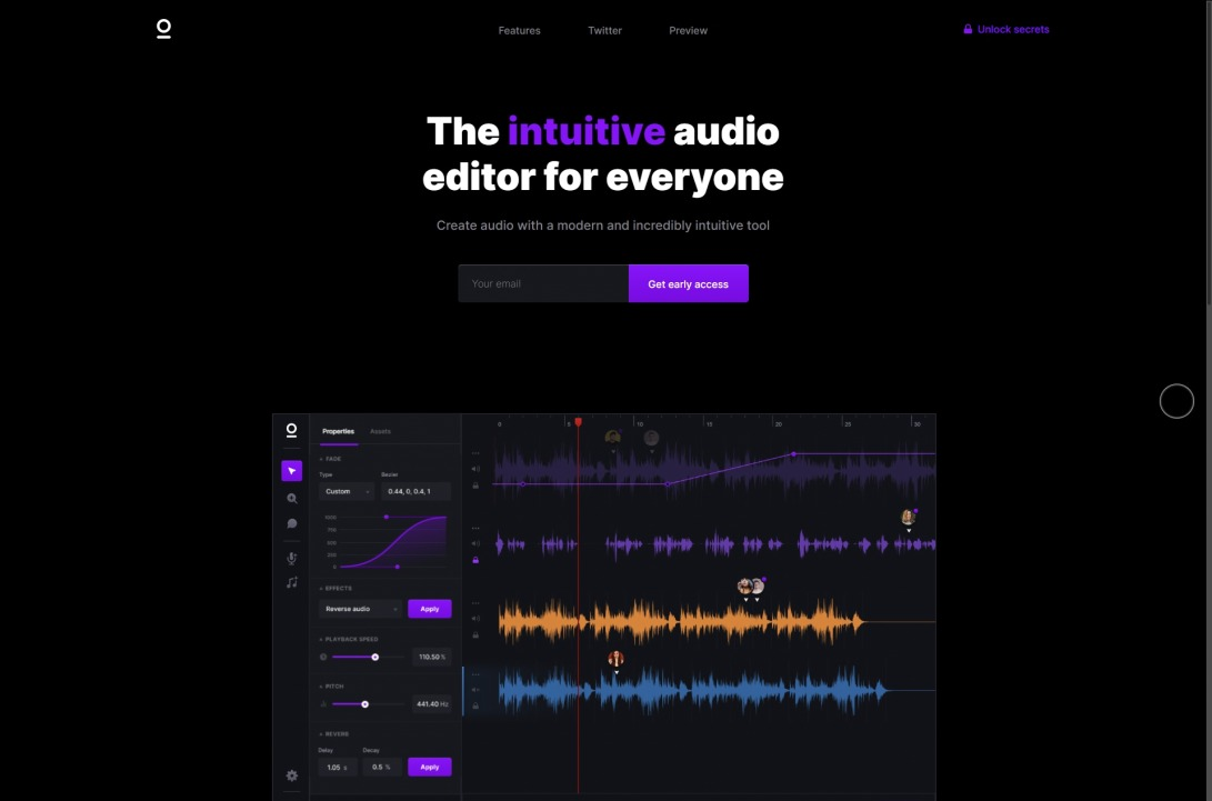 Sonuum — The audio editor for everyone