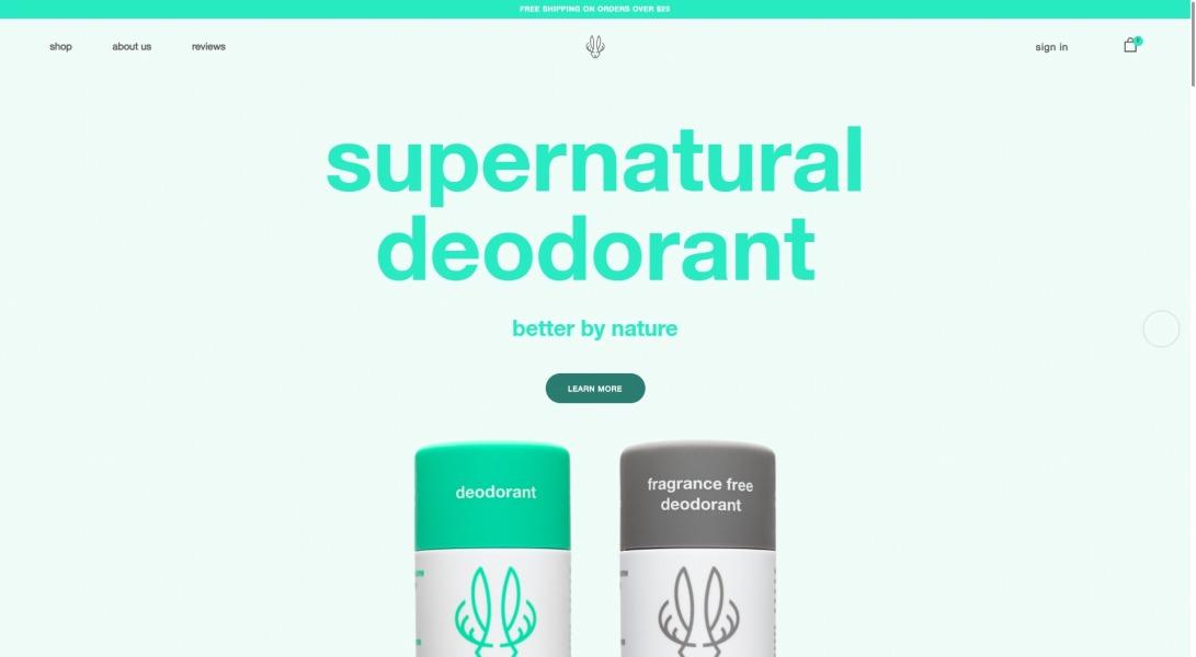 Hume Supernatural - All Natural Deodorant That Works! – humesupernatural