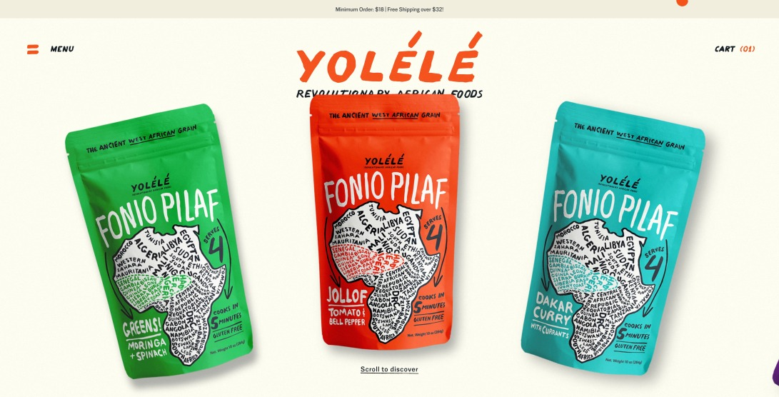 Yolélé — Revolutionary African Foods