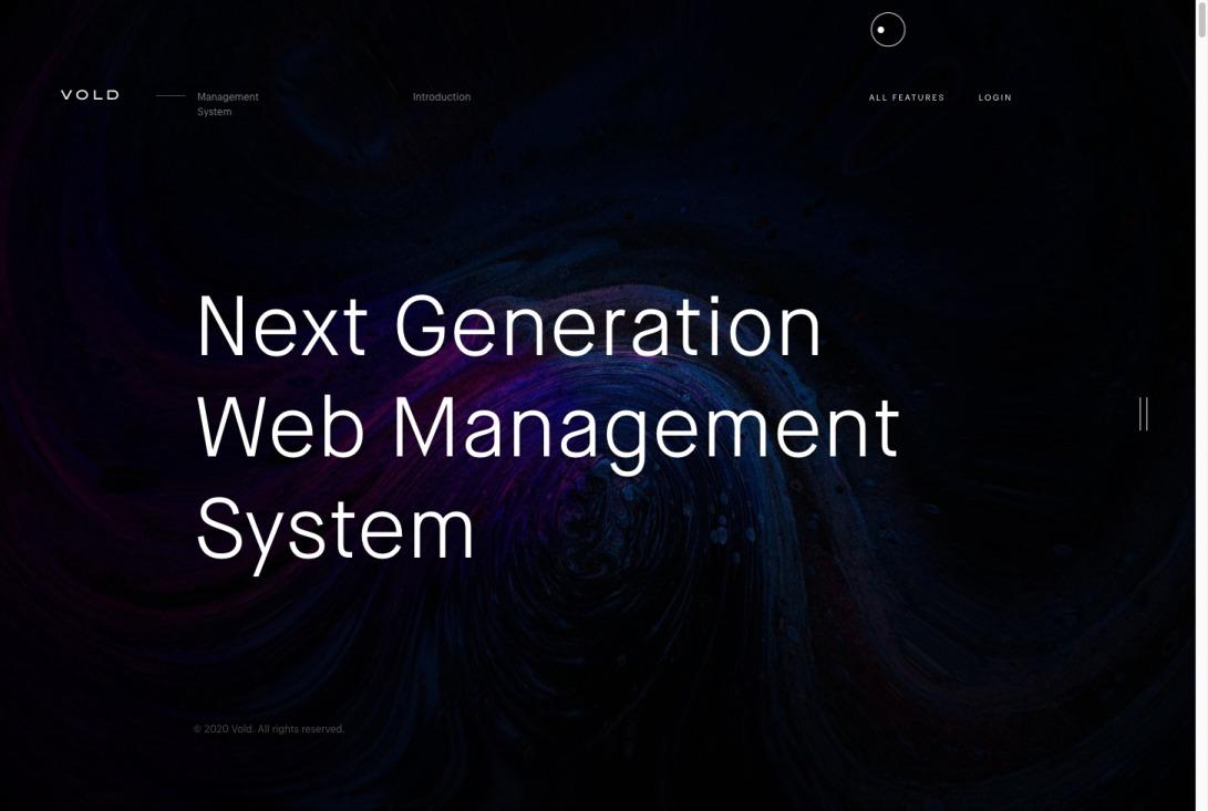 Vold — Website Management System