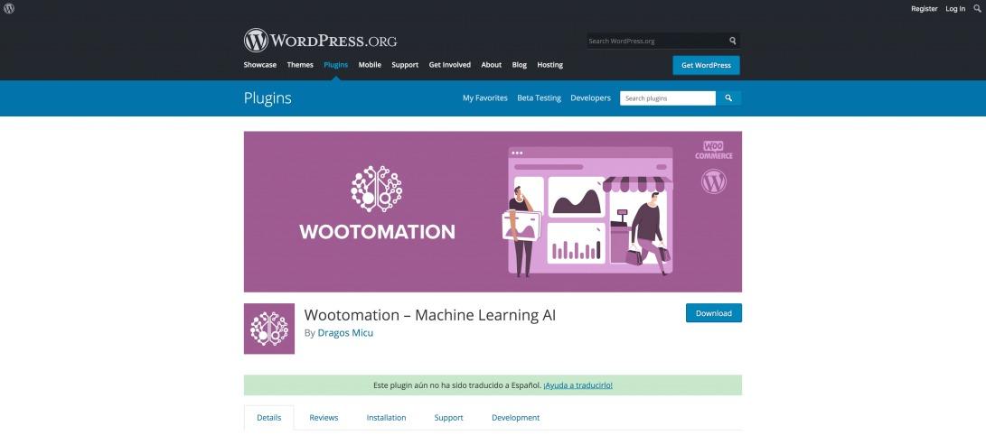 Wootomation – Machine Learning AI – WordPress plugin   WordPress.org