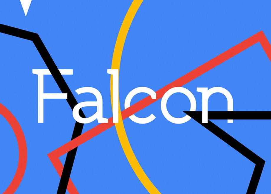 SK Falcon typeface