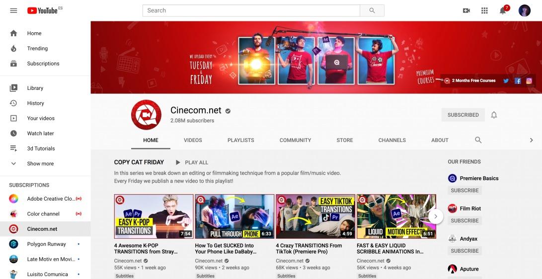 (7) Cinecom.net - YouTube