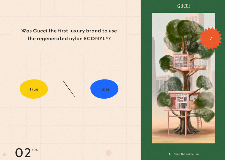Gucci Off the Grid promotional site