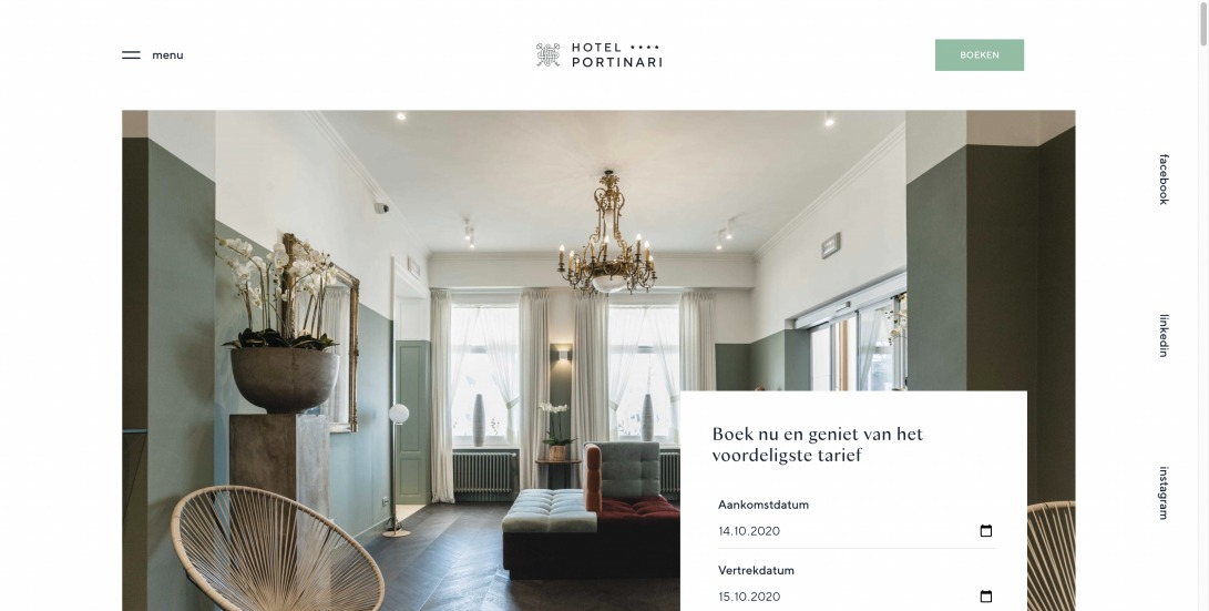 Portinari | Hotel Portinari in centrum Brugge
