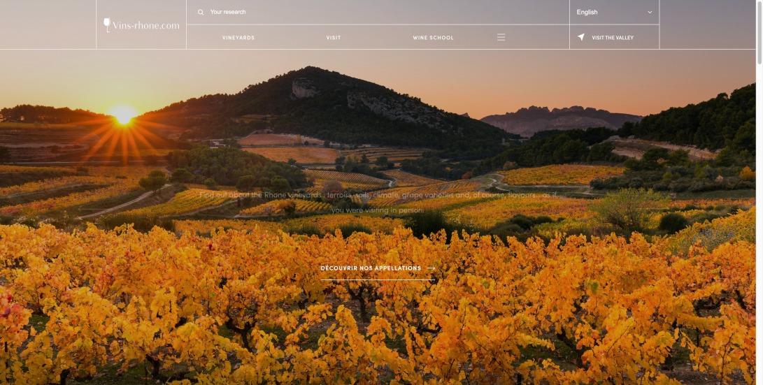 Homepage | Vins Rhône