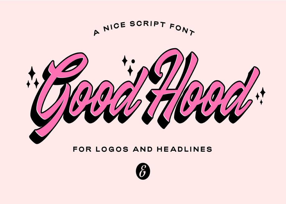 Good Hood font