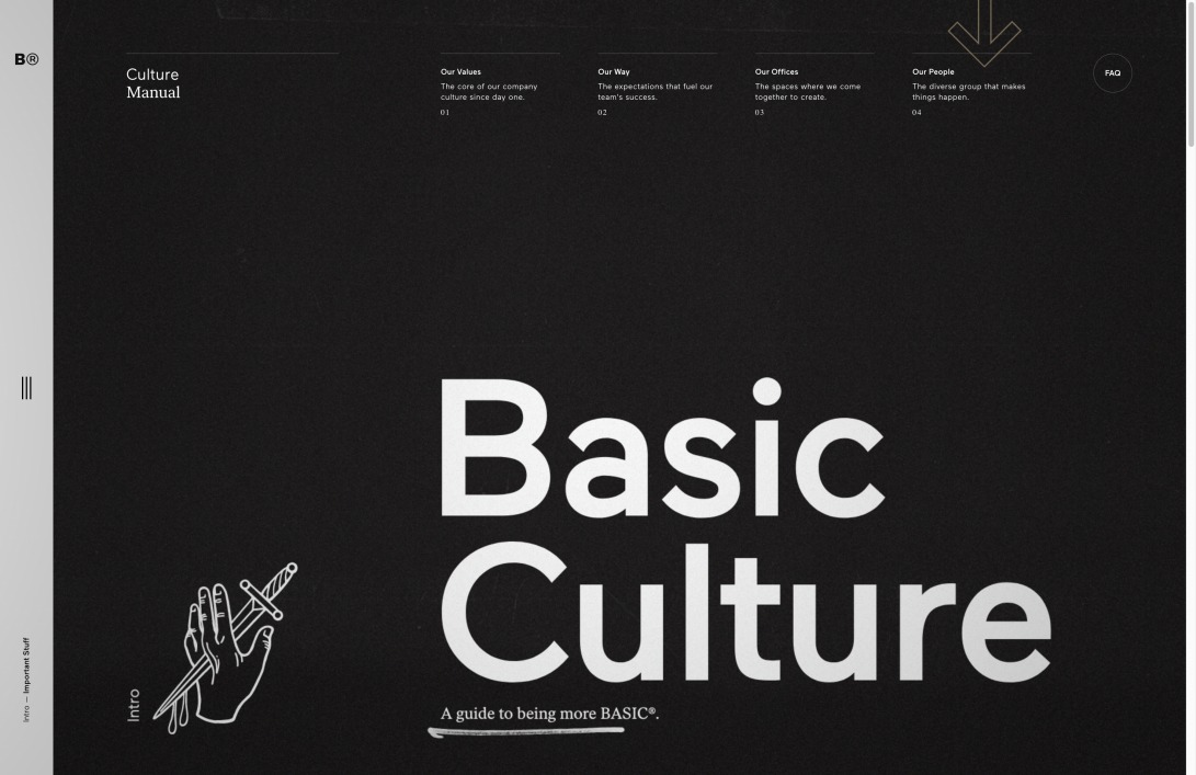 BASIC®   Culture Manual   An Employee Guide to Being More Basic