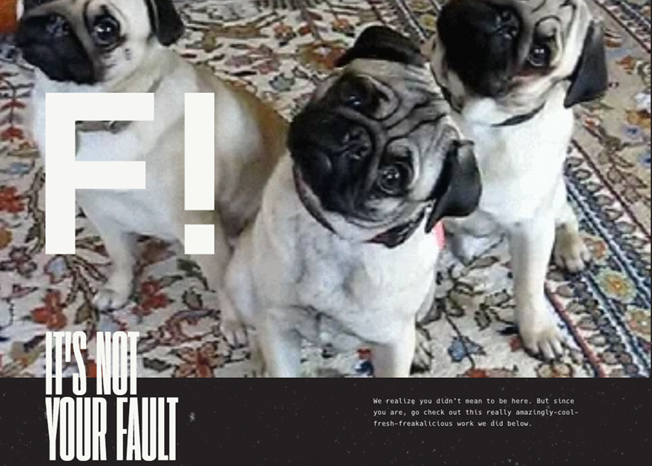 Folklore - 404 error page