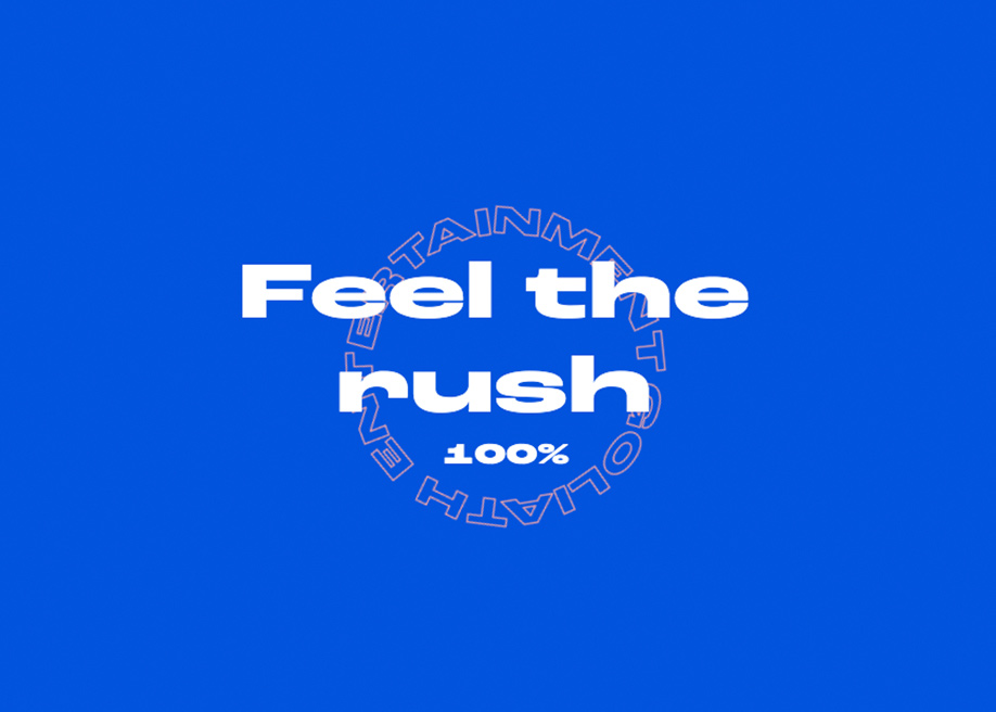 Feel the rush - Goliath Entertainment loading animation