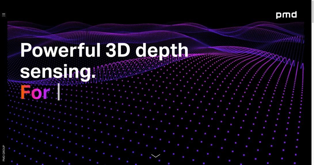 pmdtechnologies ag – pmd group - 3D Time-of-Flight depth sensing solutions