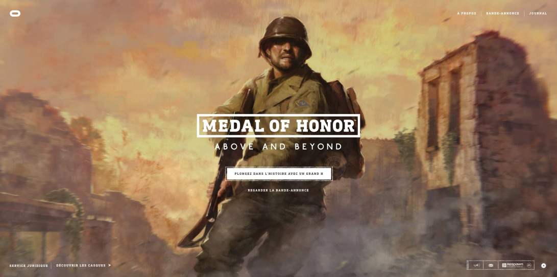 Medal of Honor: Above and Beyond| Oculus