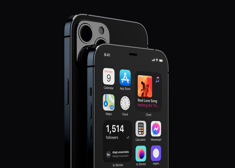 iPhone 12 & MacBook Pro Mockups