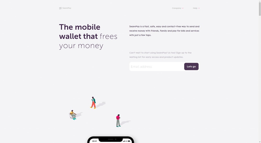 The mobile wallet that frees your money | SeamPay