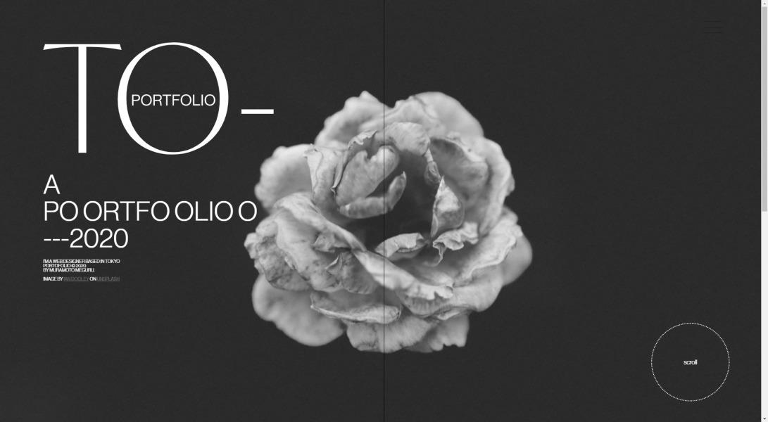MURAMOTO MEGURU --PORTOFOLIO2020