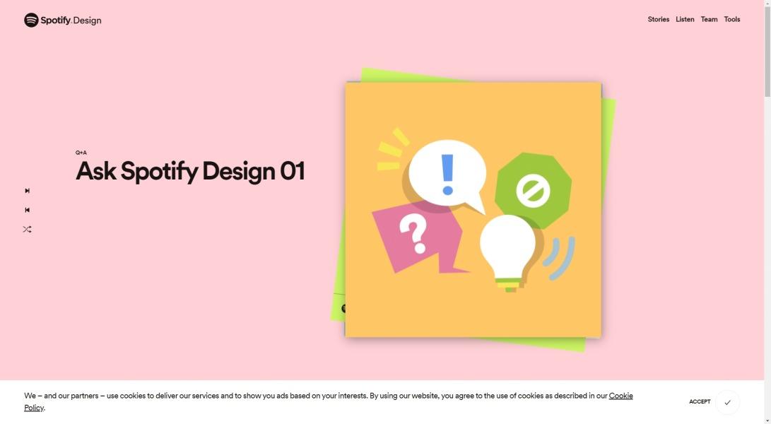 Home | Spotify Design