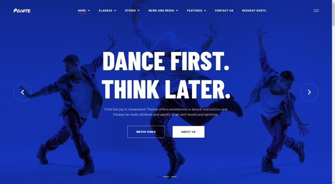 Pointe – Dance Studio