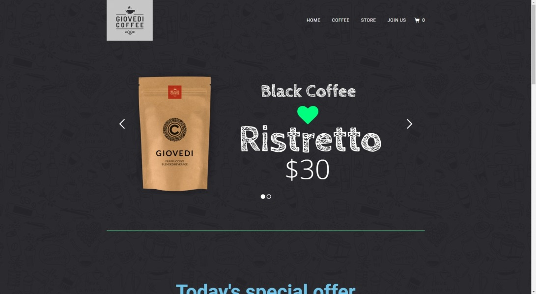 Coffee - Jupiter X Templates