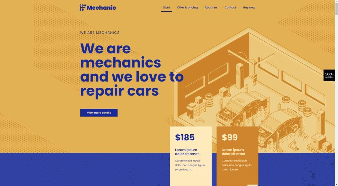 BeMechanic 4 – BeTheme