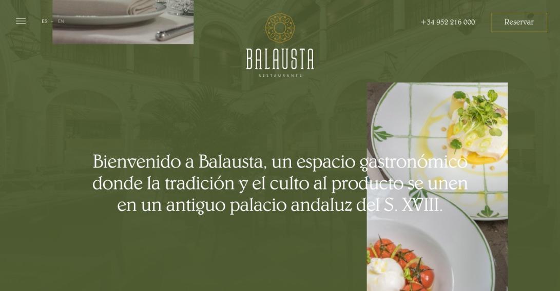 Restaurante Balausta   Málaga centro   Palacio Solecio