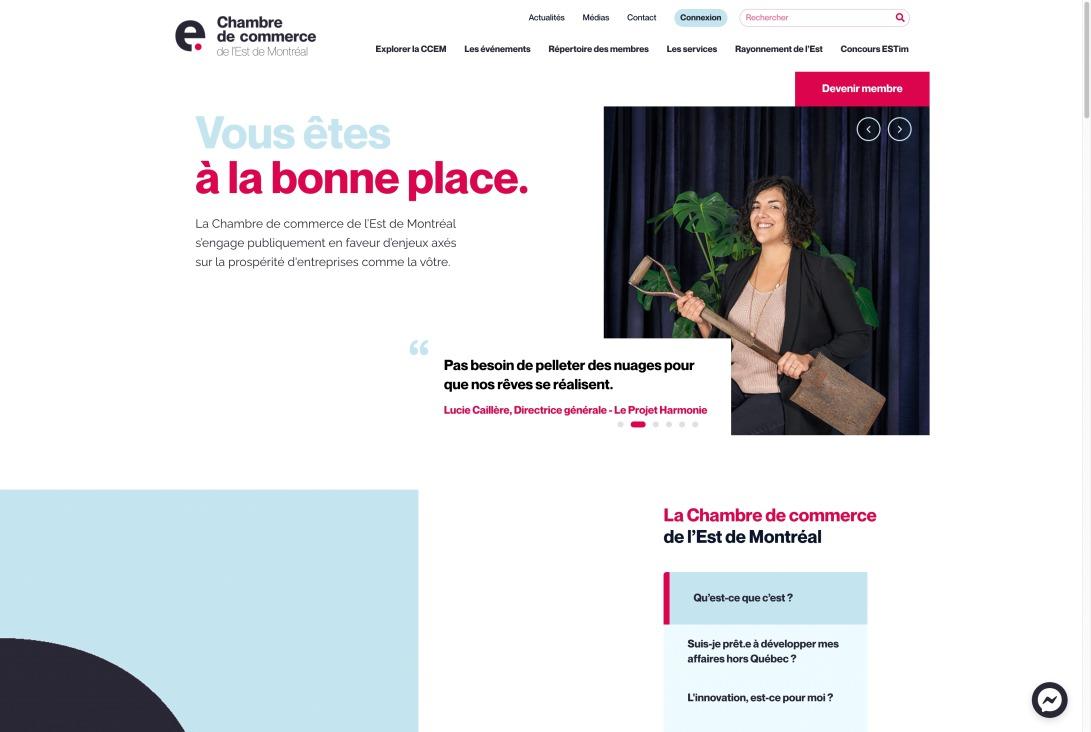 CCEM: Chambre de Commerce de l'Est de Montréal