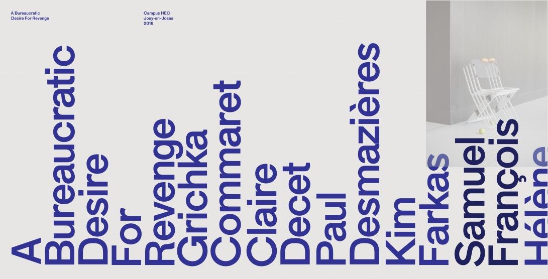 A Bureaucratic Desire For Revenge — Palette Terre