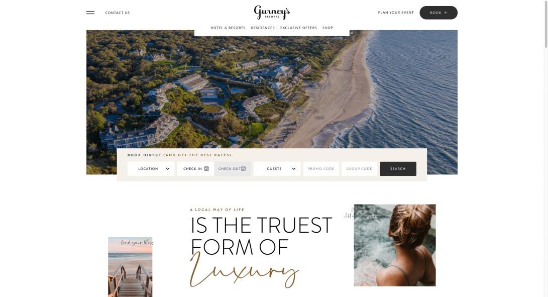 Gurney's Resorts | Montauk, NY & Newport, RI