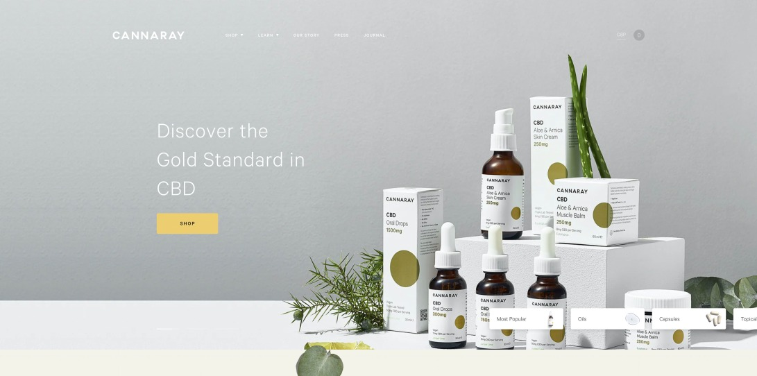 Buy CBD UK | Premium CBD Drops, Balms, Tablets & Creams | Cannaray