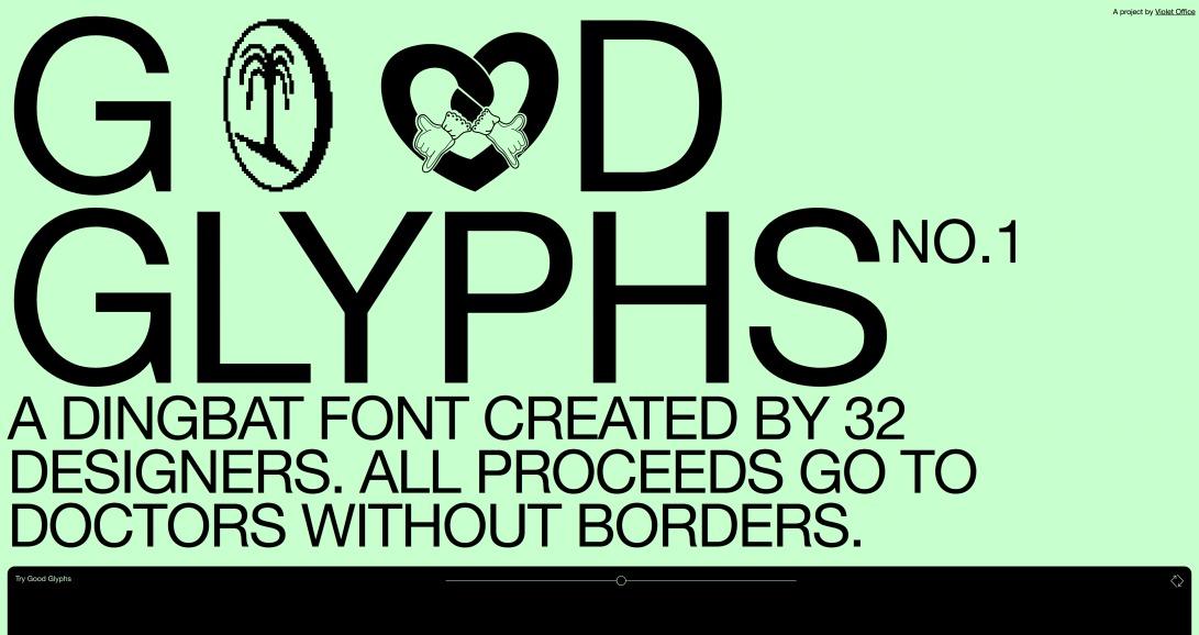 Good Glyphs   Good Glyphs
