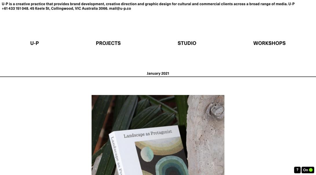 U-P — U‑P is a creative practice that provides brand development