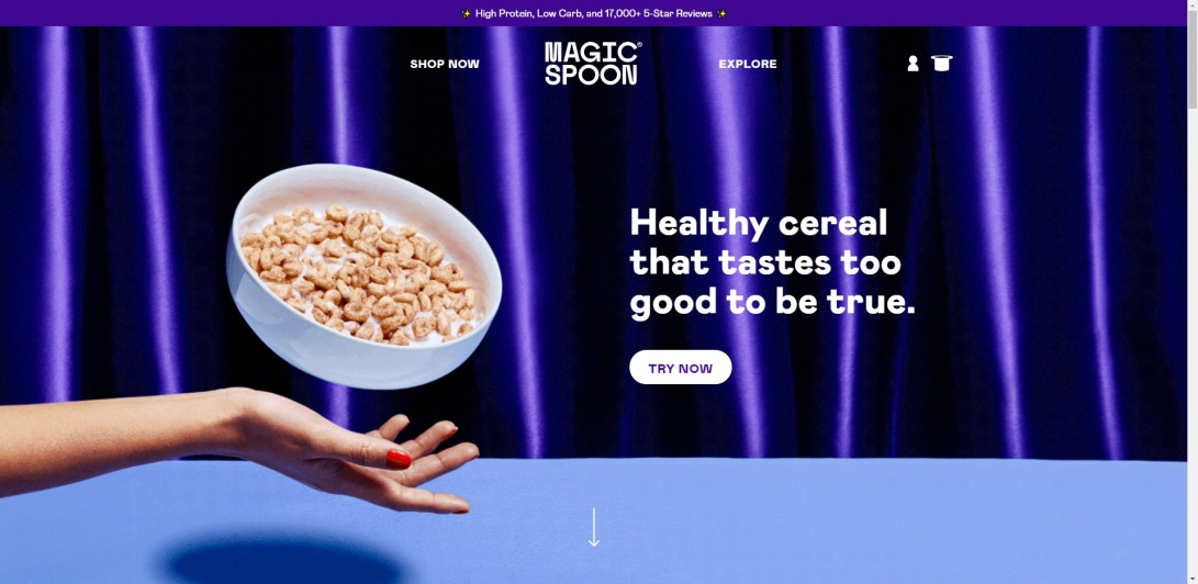 High Protein, Low Carb, Healthy, Keto Cereal | Magic Spoon Cereal