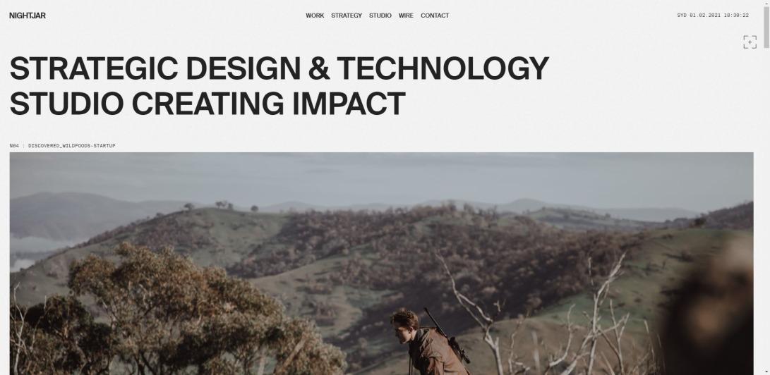 Nightjar – Experience Design and Technology Studio