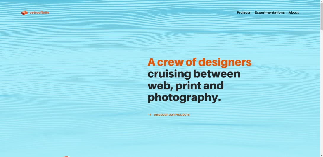 Cetrucflotte – Graphic design, screens and sinking