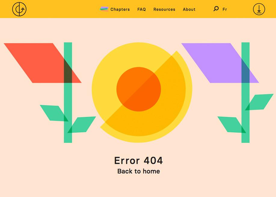 Nourish Change - 404 error page
