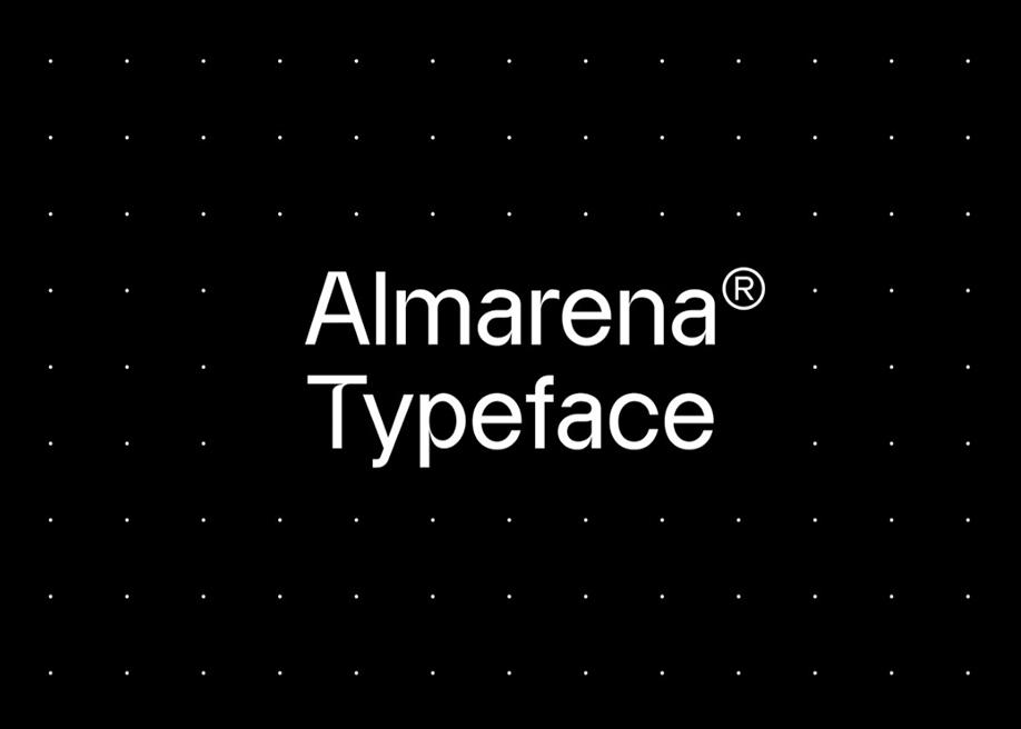 Almarena typeface