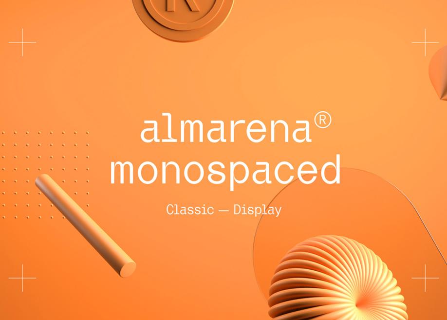 Almarena® Monospaced