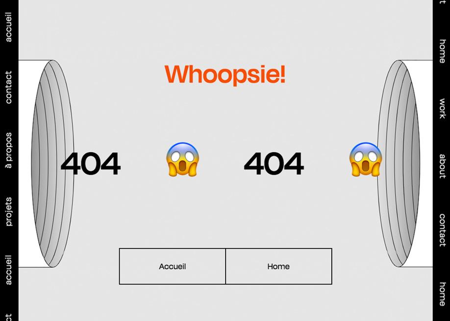 Don Carlo - 404 error page