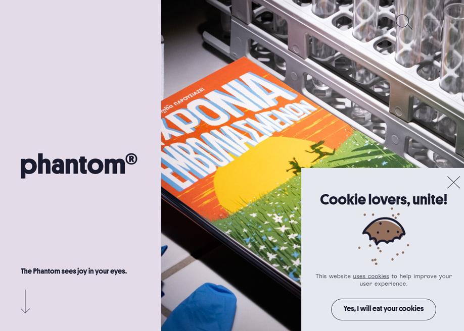 Phantom - Cookie lovers!